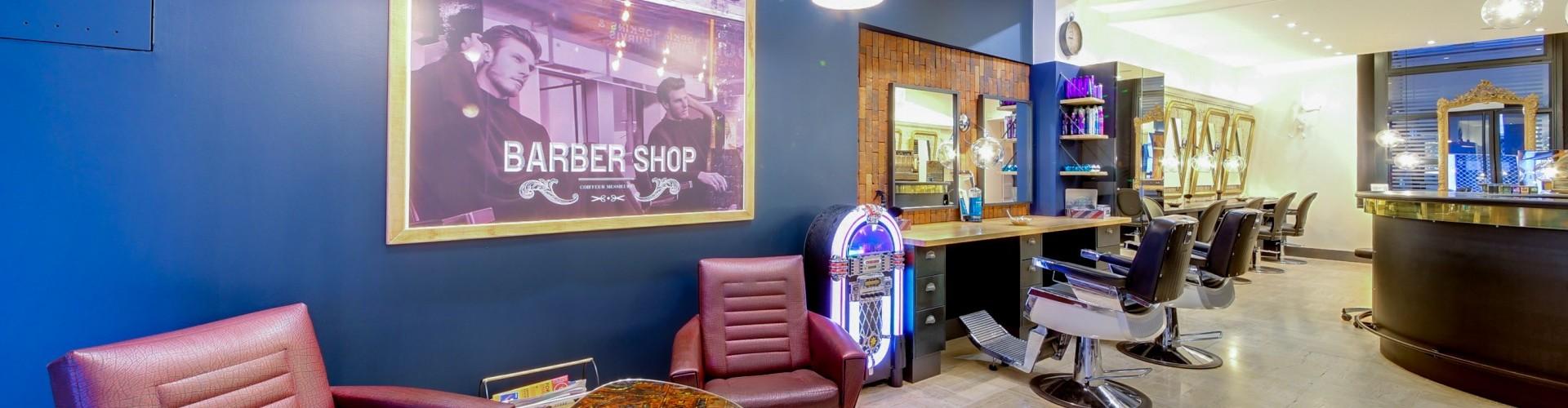 Salon de coiffure homme et femme