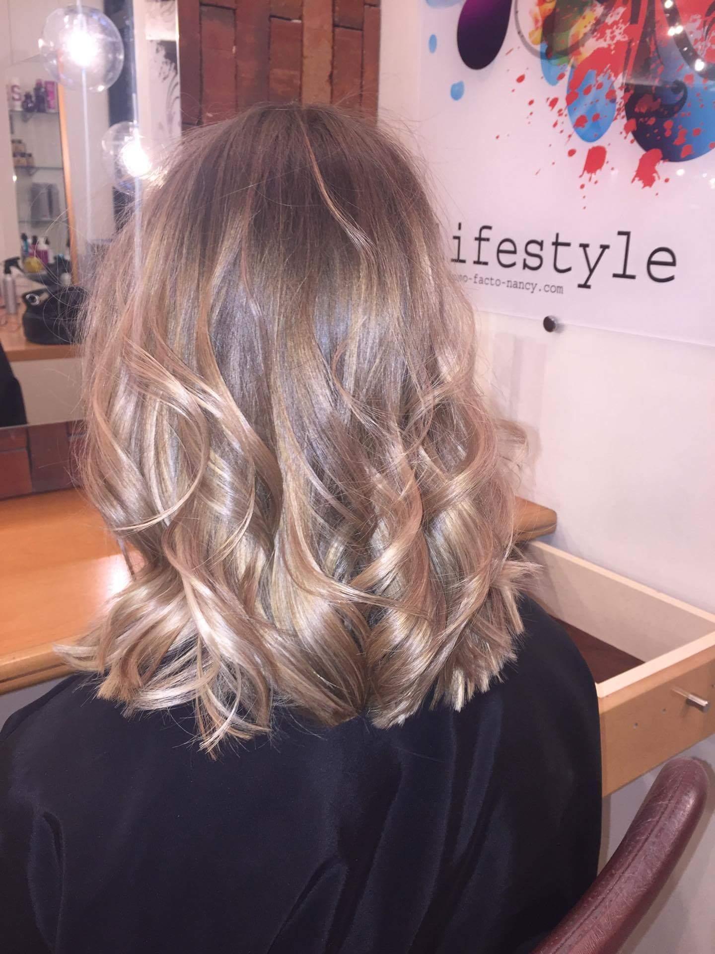 Couleurs cheveux femme par Ipso Facto : après